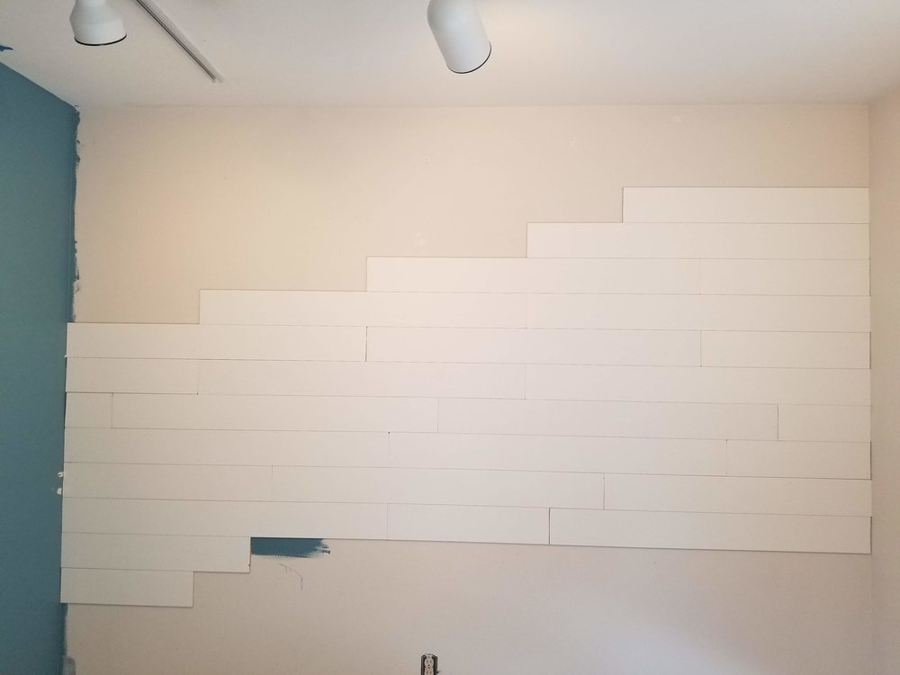 Wall Planks peel and stick wood wall
