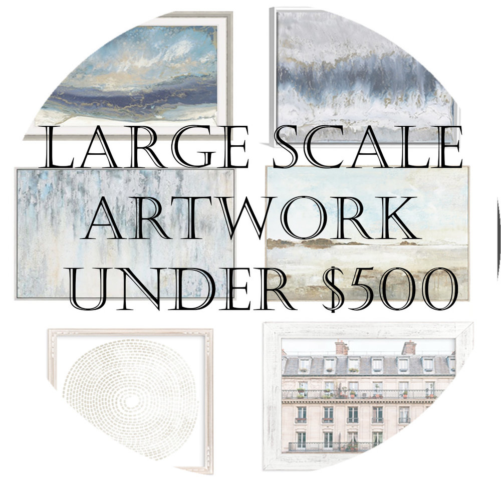 Large artwork under $500