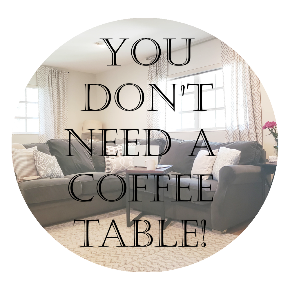 Why you don't need a coffee table!