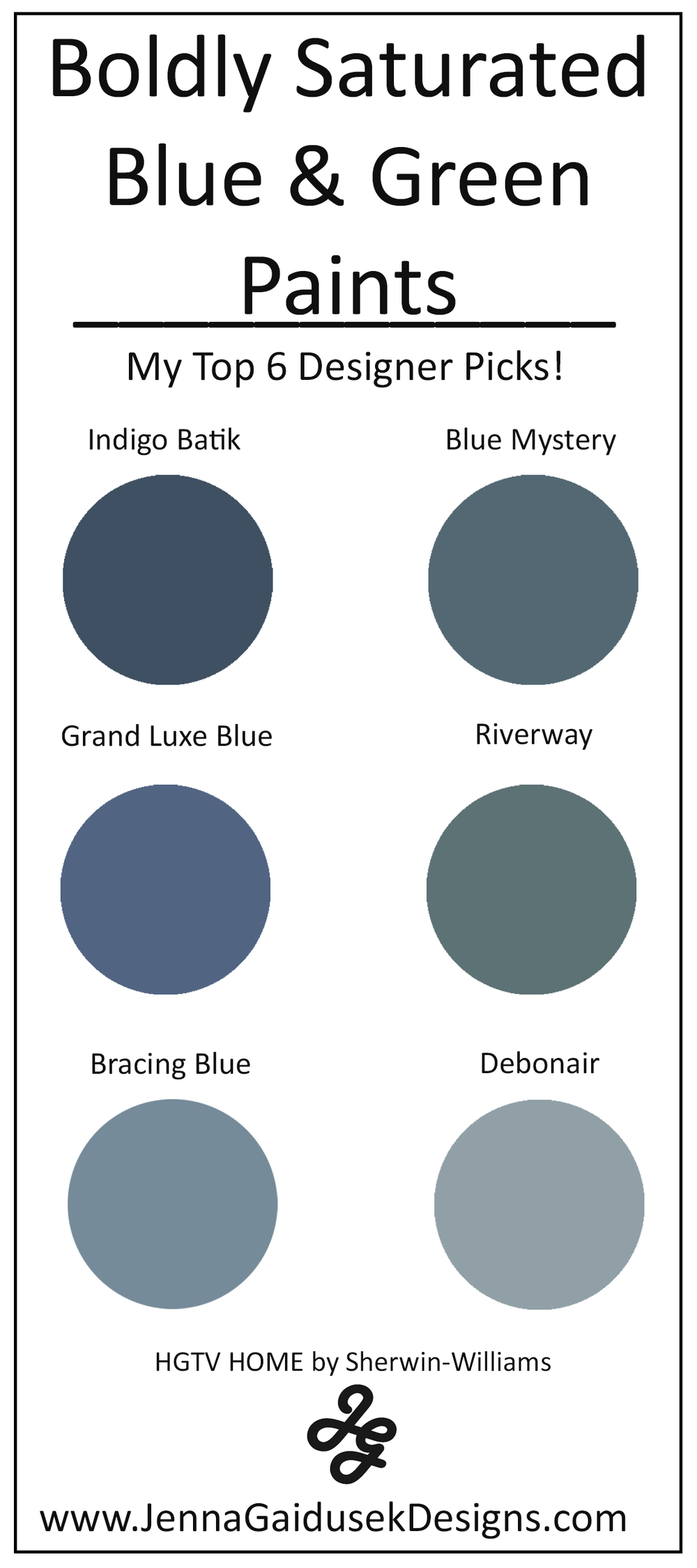 My Top 6 Bold Blue And Green Paint Colors Best Accent Wall Paints