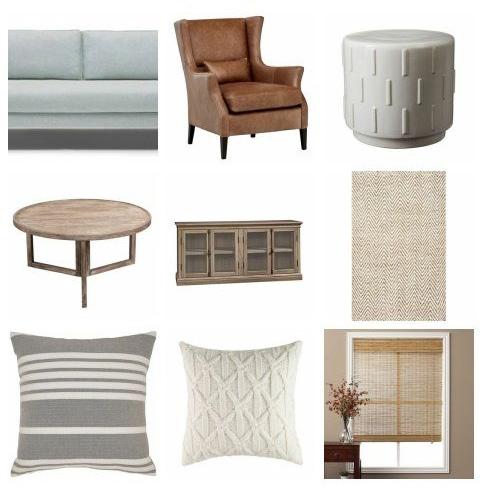 Coastal Living Room -