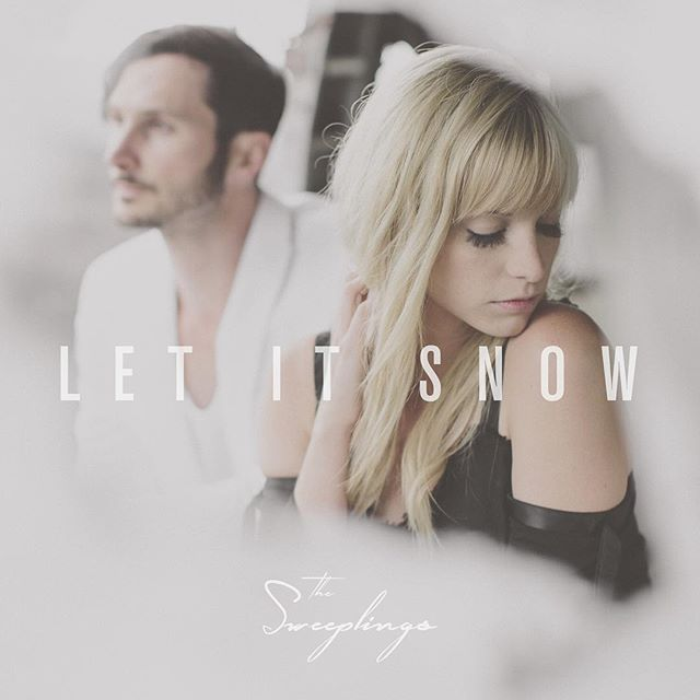 "Hope your holidays are in full swing! Don't forget about our new single ""Let it Snow"" for your parties & decorating this year. We think it would be a great addition to the festivities 😊"