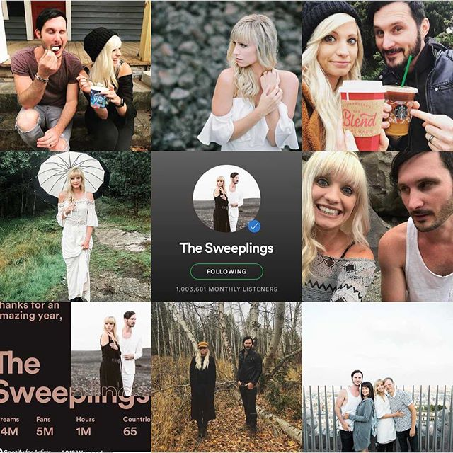 Thanks for a great year everyone! We are so so thankful & excited for what's next. 2019, we are coming for you! #newmusic #thesweeplings #2019goals #musicforlife #2019music