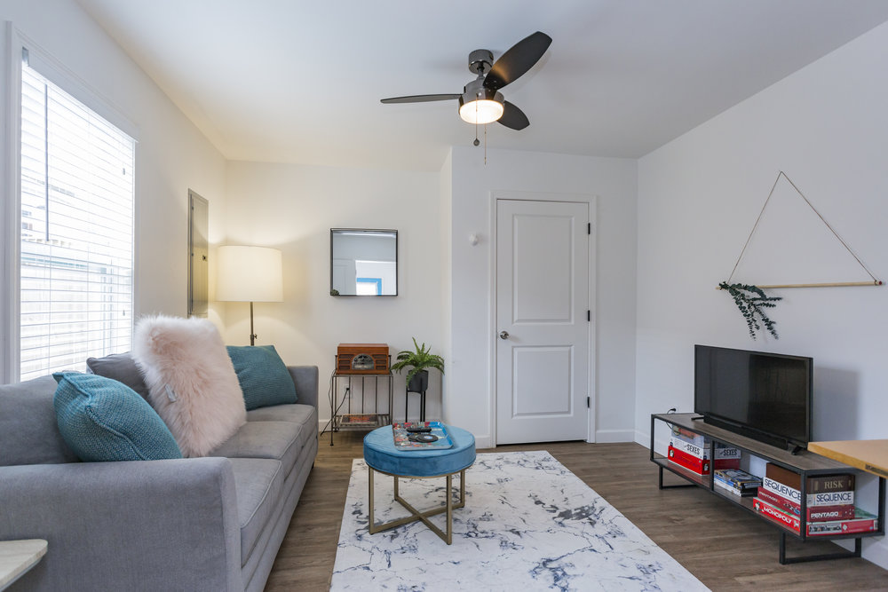 Garage Apartment Transformation -