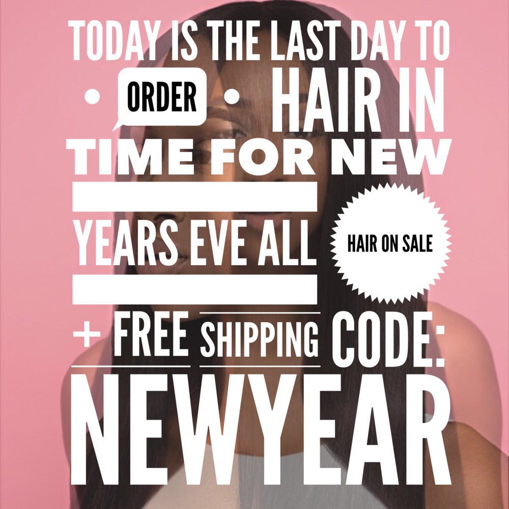 FREE SHIPPING AUTOMATICALLY APPLIED AT CHECKOUT. 12/27 IS THE LAST DAY TO ORDER TO RECEIVE IN TIME FOR NEW YEARS EVE