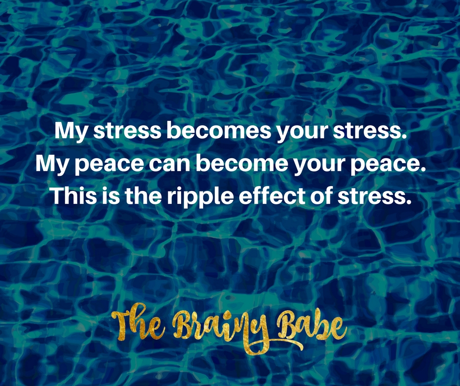 My stress becomes your stress.My peace can become your peace.This is the ripple effect of stress..jpg
