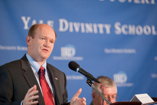 Senator Coons at Yale Divinity School