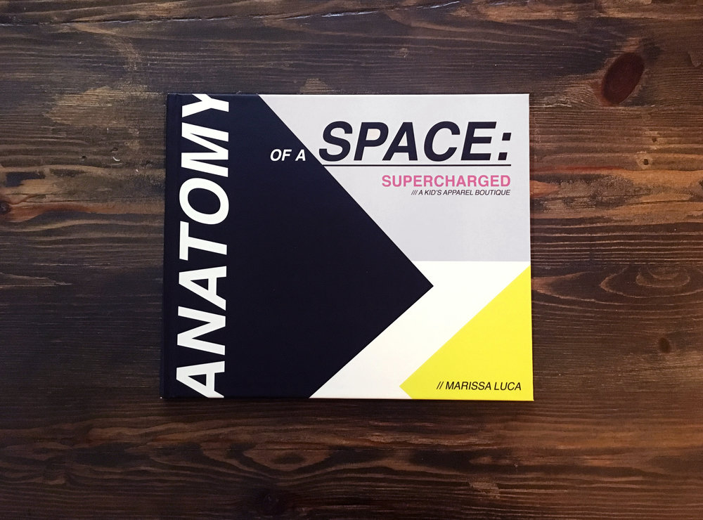 Anatomy of a Space - SUPERCHARGED  (Self Published Book)