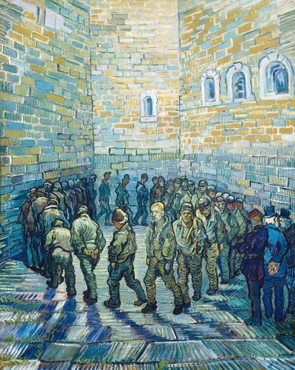les ronde des prisonniers, Vincent Van Gogh