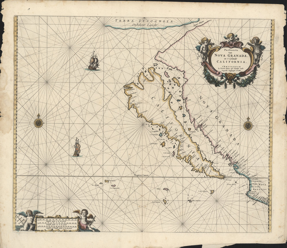 Roy V. Boswell Map Collection, Pollak Library, Cal State Fullerton
