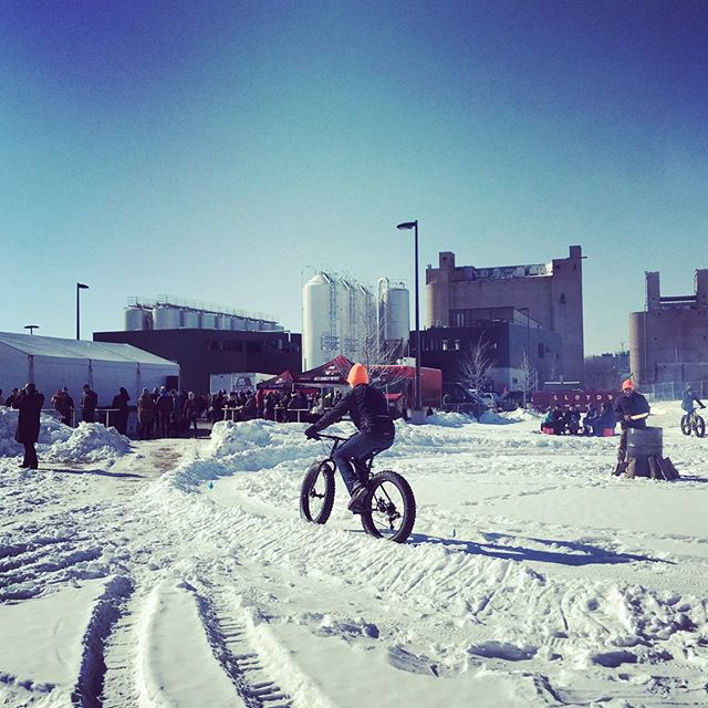THANK YOU! Yesterday's turnout was amazing. We had so much fun riding bikes, drinking beer, and spreading winter cheer with you all. #SurlyMasher 📷: @tasteslikecoffee