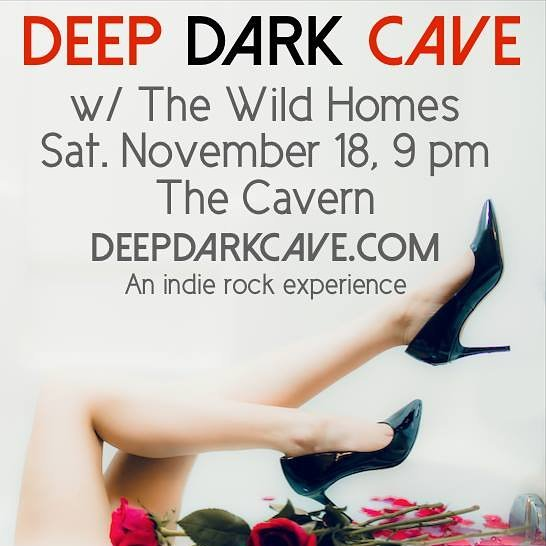 Hey Winnipeg! We are back in action this Saturday at @cavernwpg and excited to share the stage with @deepdarkcaveband. See you there! #cavernwinnipeg #thewildhomes #deepdarkcave #indiemusic #winnipegmusic #manitobamusic #synthpop