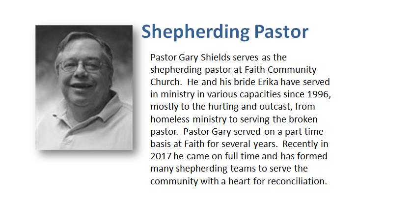 Contact Pastor Gary
