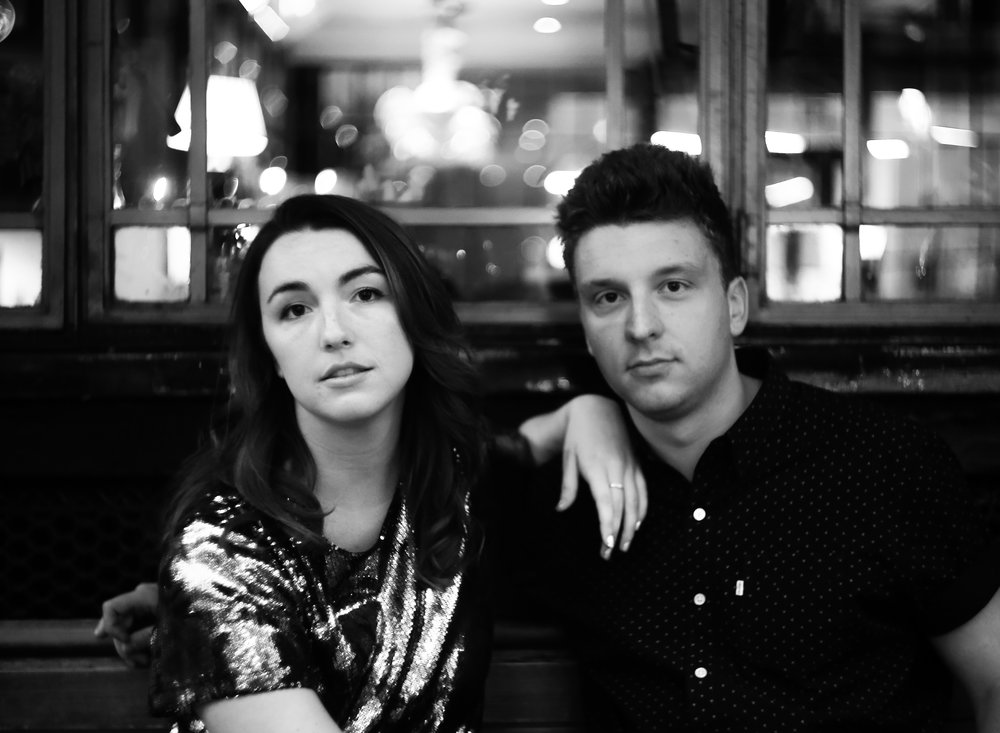 Tom Ryder and Lauren Scudder of the duo, LOZT.                                          PHOTO / SUPPLIED