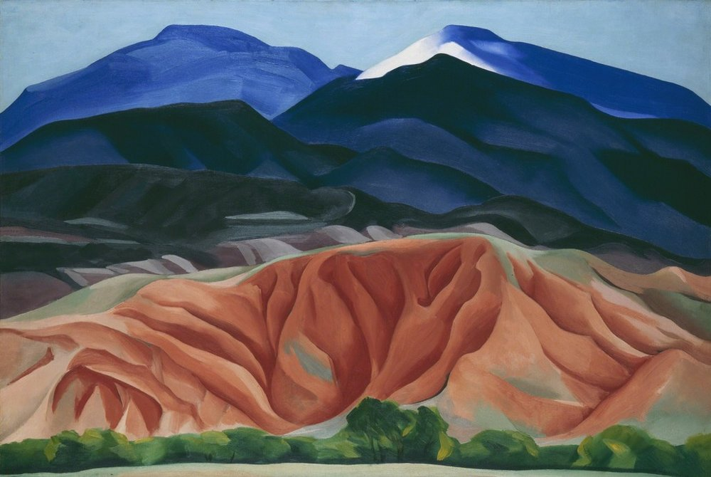 Georgie O'Keeffe  Black Mesa Landscape, New Mexico / Out Back of Marie's II , 1930
