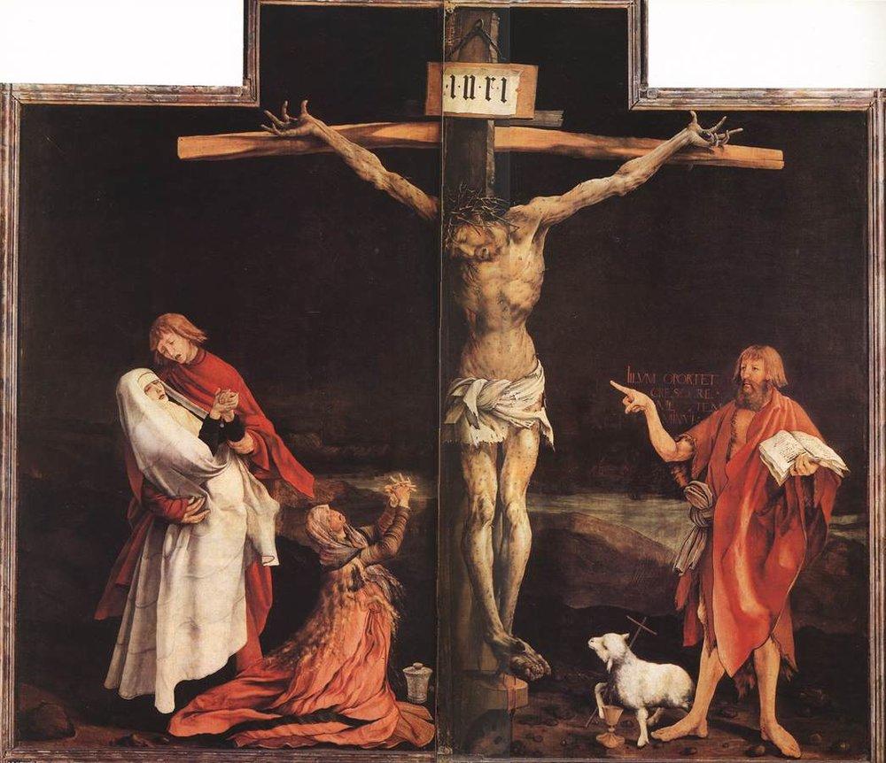 Grünewald,  Isenheim Altarpiece  , 1512