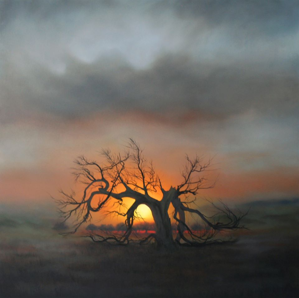 Dawn Waters Baker,   Emancipation Proclamation  , 55X55 Oil on Canvas