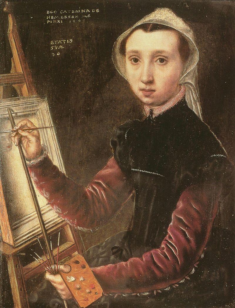 Caterina van Hemessen,  Self Portrait , 1548