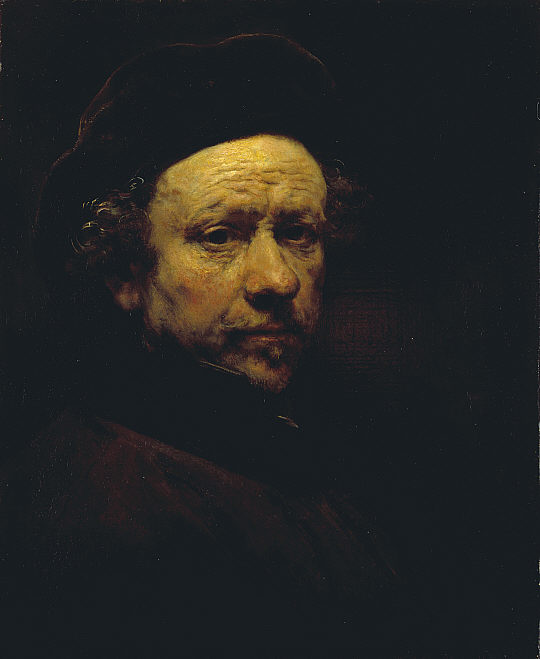 Rembrandt,  Self Portrait , 1659