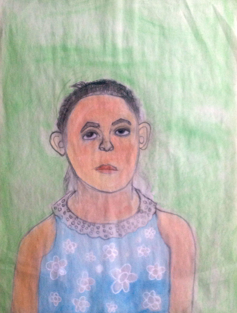 Artwork by female student, age 10