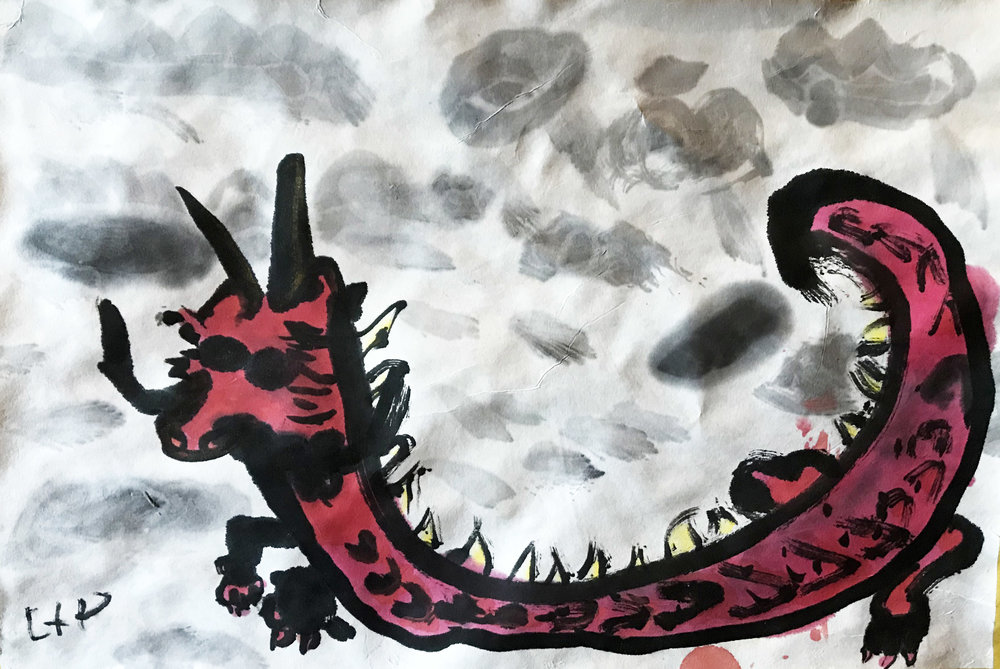 Dragon, by Liam, age 7