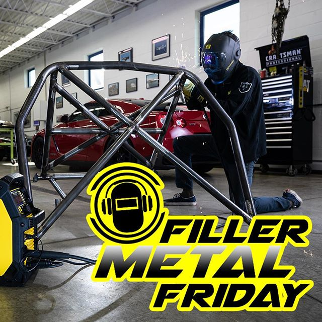 *Link in BIO* It's Filler Metal Friday ! This episode is for the Weekend Warriors and Garage Gurus ! Taking it back to the basics for MIG Welding in the garage ! #arcjunkies #podcast #fillermetalfriday #migwelding #mig #gmaw #weekendwarrior #garage #esab #gettingstarted