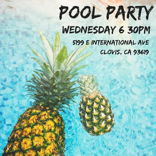 Can't wait to see you all on Wednesday!! Students and families are invited! There will be food, volleyball, & swimming! ☀️
