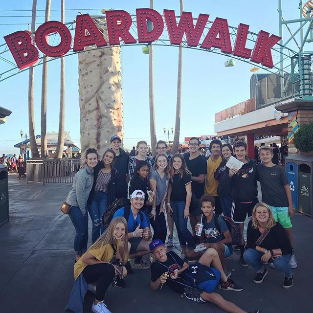We had a great day at the Boardwalk! 🎡🎢