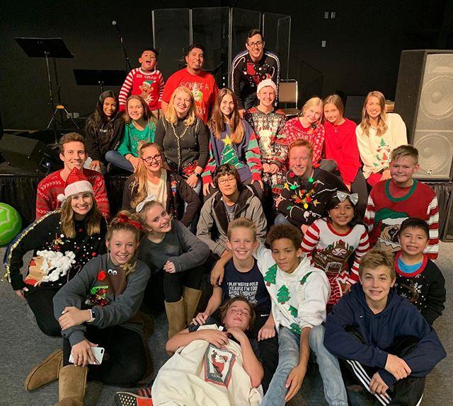 Ugly Sweater Night 2018 🎅🏽🤶🏼🎁
