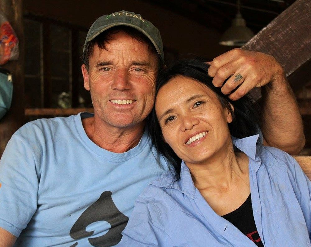 """Lek Chailert and Darrick Thomson - Mum and I would like to take this opportunity to thank you for all that you have done for us over the past 9 years. Without your love, care, generosity, support, mentoring and encouragement, we would not be where we are today. We are so grateful to you, love you both heaps and are honoured to be able to call you a part of our family."""