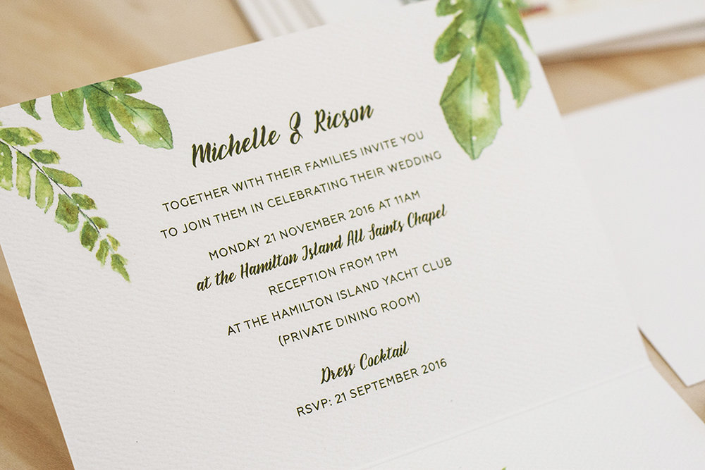 Custom Watercolour Illustration of Wedding Venue Invitation
