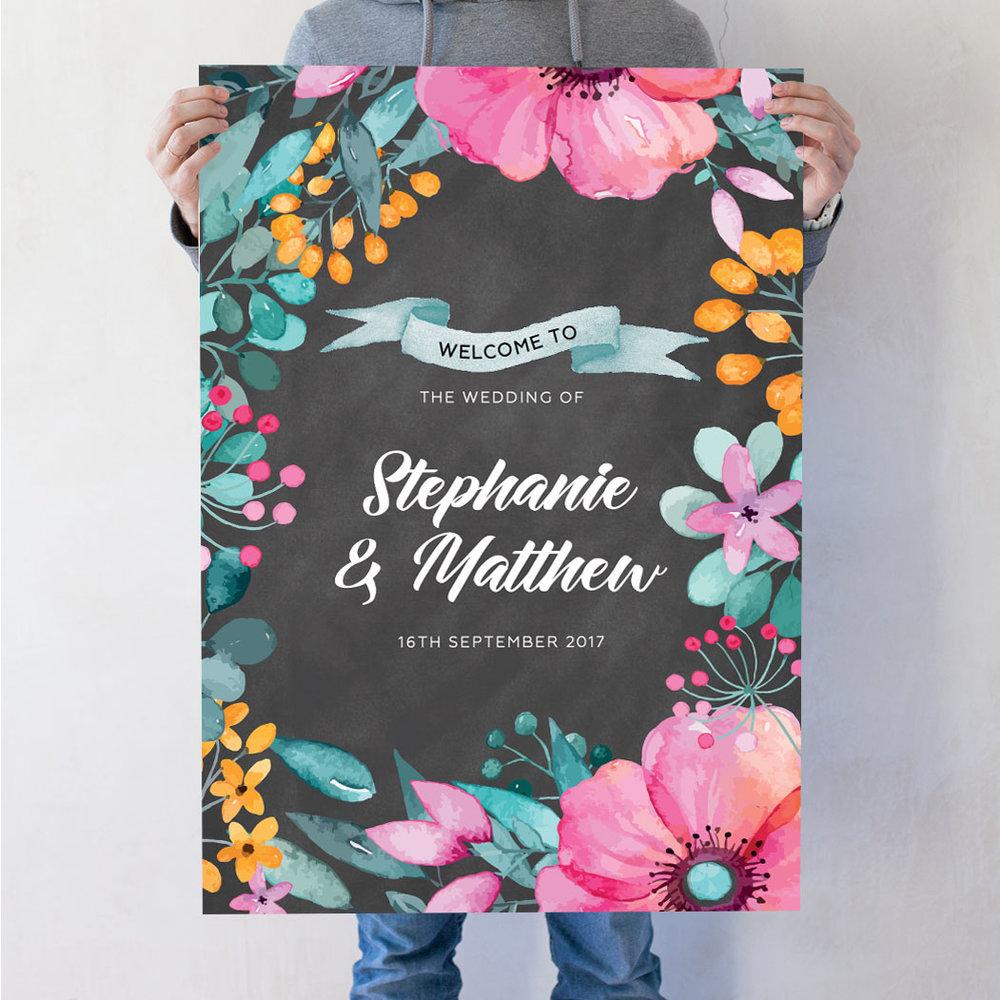 Petals Welcome Poster