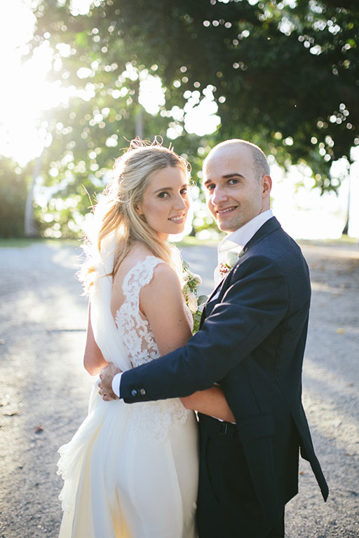 Katherine + Florian Wedding Couple St Mary's by the sea in Port Douglas