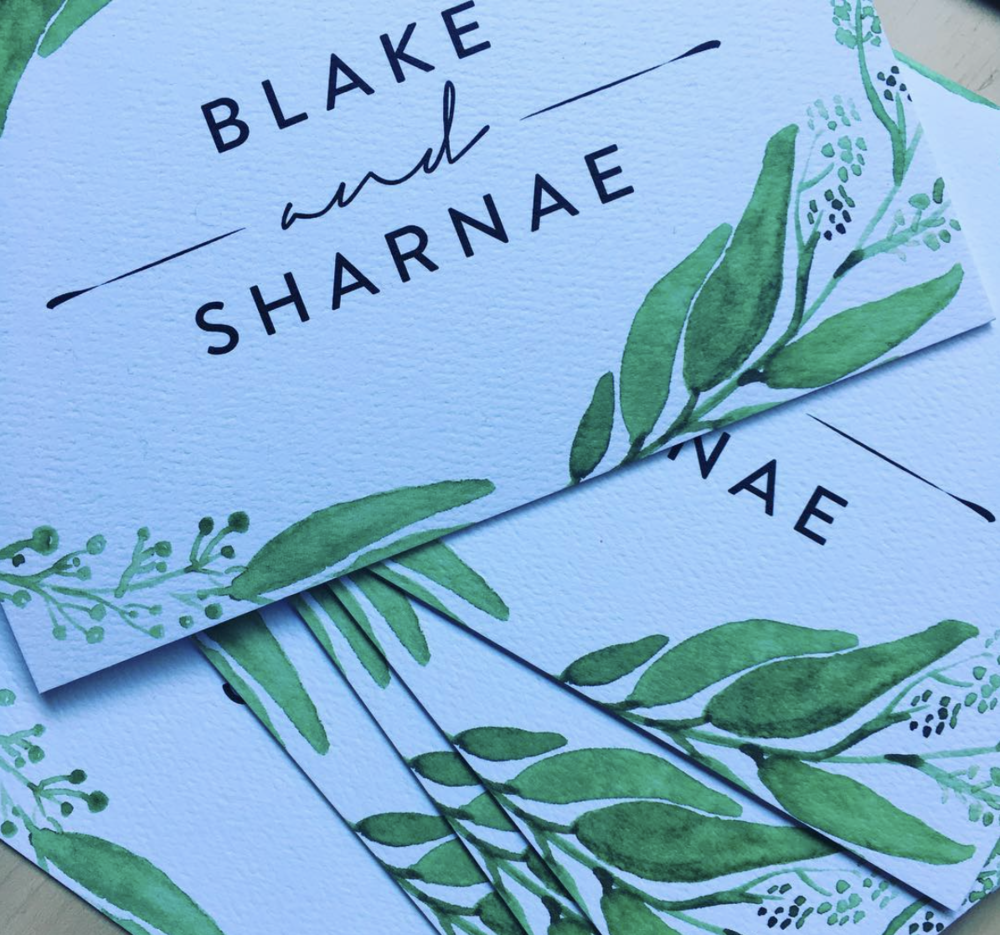 Greenery elegance / Get on board with our Folding Invitations