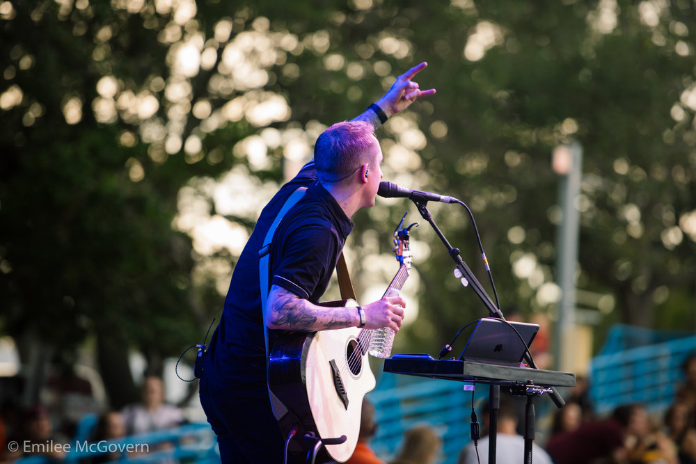 Willima Ryan Key performs during the Parkland Strong benefit concert that was held to raise money for Marjory Stoneman Douglas victim families, and survivors. 3,000 people attended the soldout show, in support of their community.