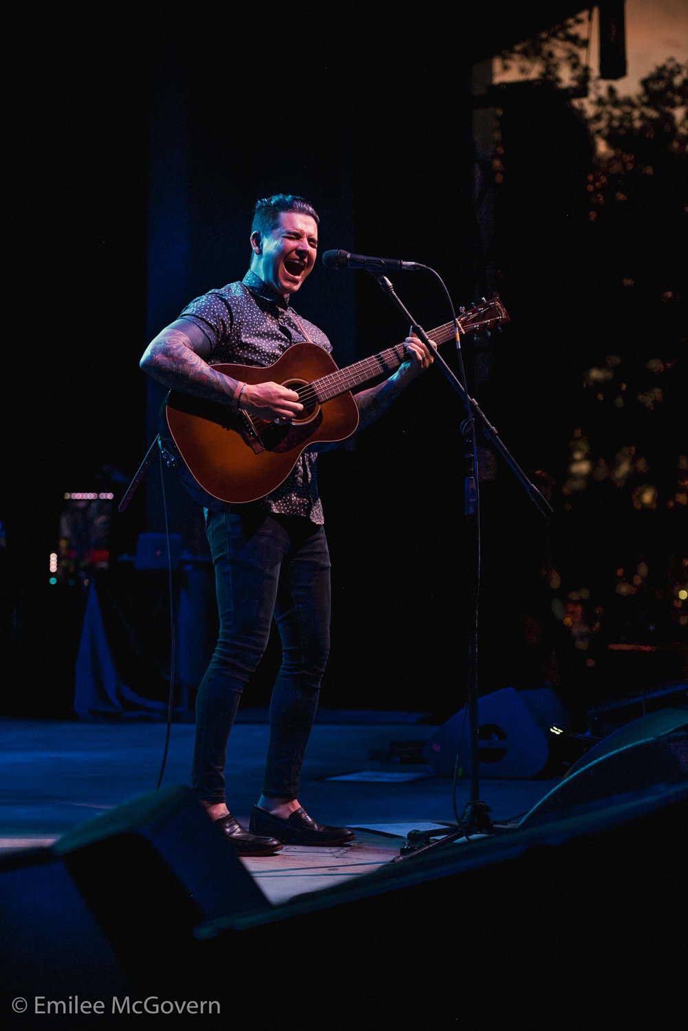 Artist Chris Carrabba of Dashboard confessionals and a South Florida Native, perfoms at the Parkland Strong benefit concert that was held to raise money for Marjory Stoneman Douglas victim families, and survivors. 3,000 people attended the soldout show, in support of their community.