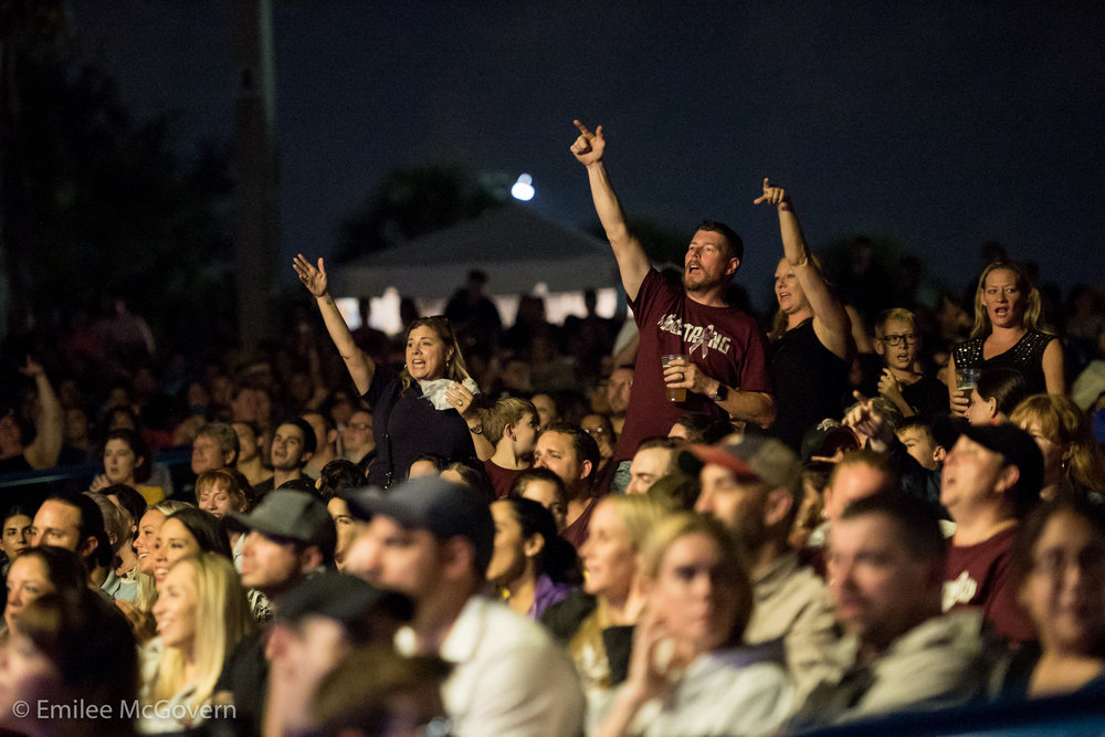 South Florida holds benefit concert to raise money for Marjory Stoneman Douglas victim families, and survivors. 3,000 people attended the soldout show, in support of their community.