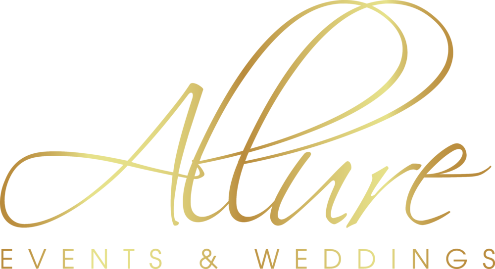 Allure Events and Weddings logo