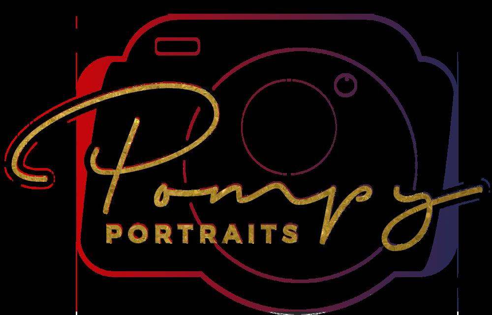 Pompy Portraits logo