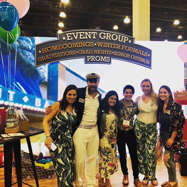 Come down to the Event Group pier and meet our team! We'd love to talk to you #cada2019