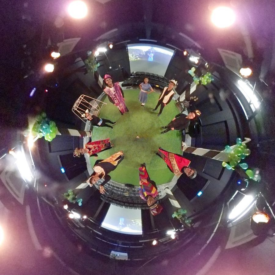 360 pic during the finale representation...
