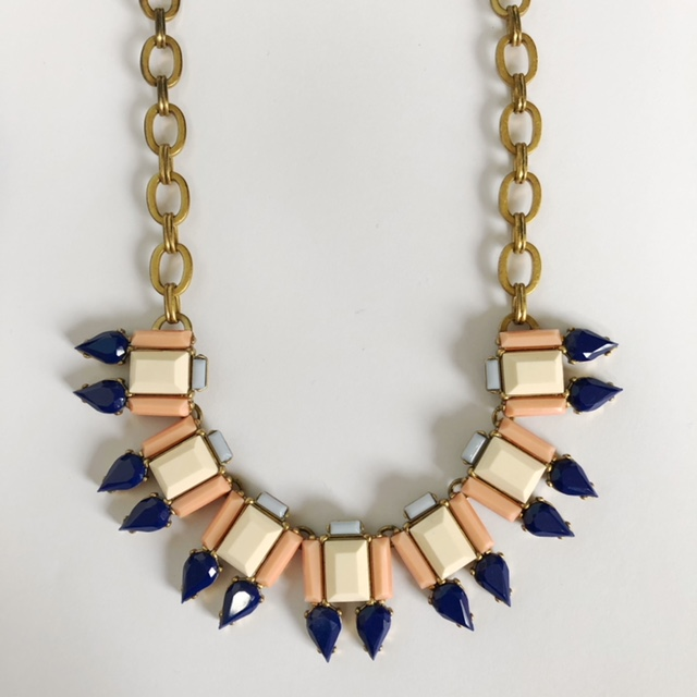A pre-loved contemporary JCrew Necklace $75