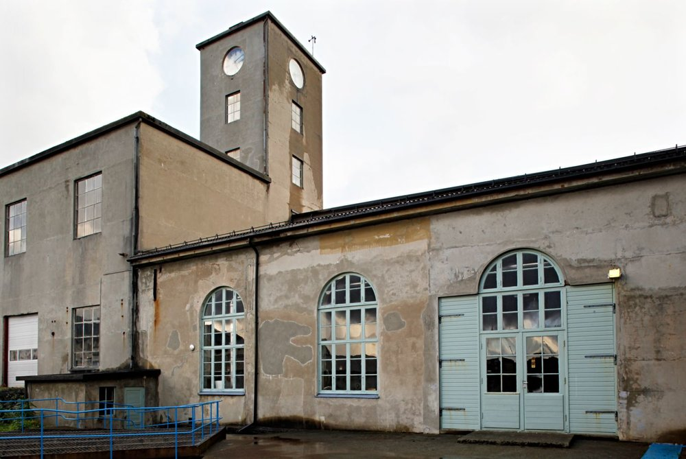 Devoldfabrikken - Old and rustic factory, transformed into a modern area with shops, cafes and museums - Industrial design by GARDE. Mads Emil Garde