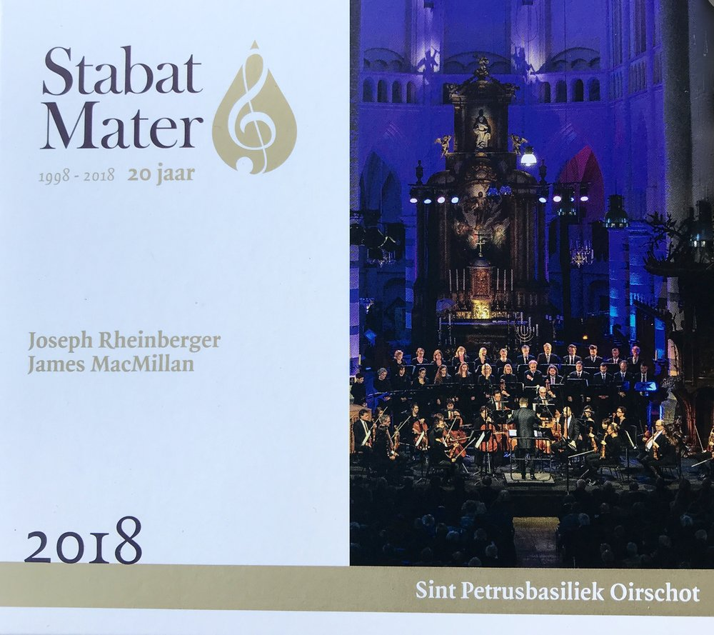 Stabat mater recording 2018