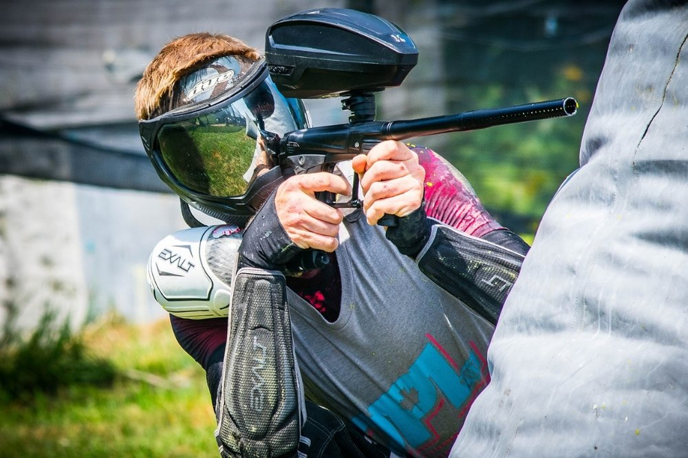 21. Paintball Course -