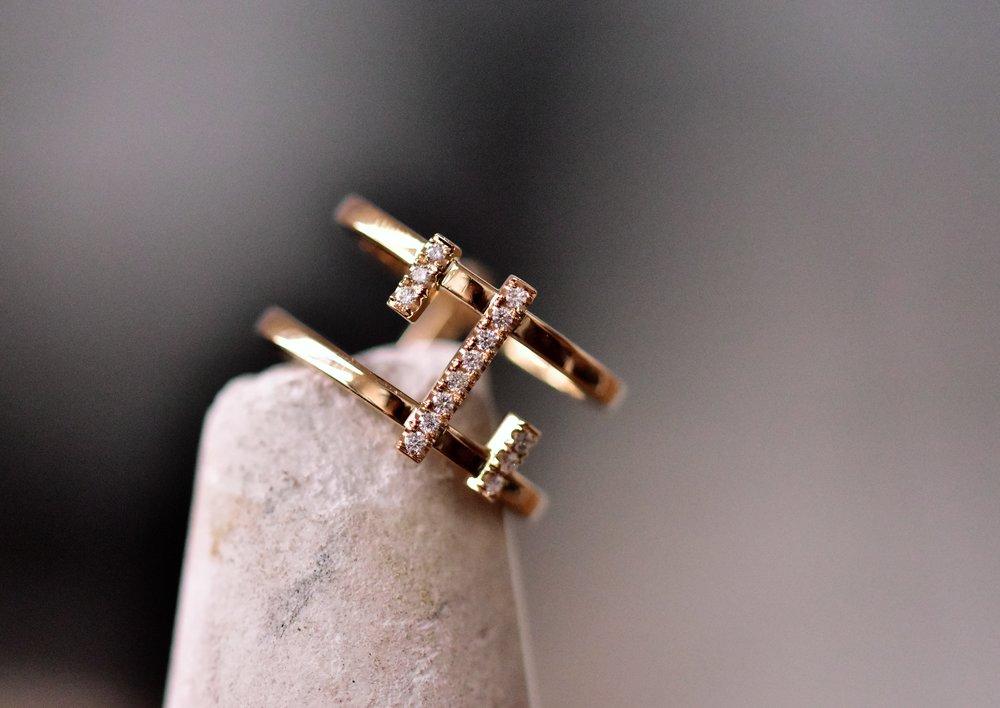 Bespoke wedding ring London workshop