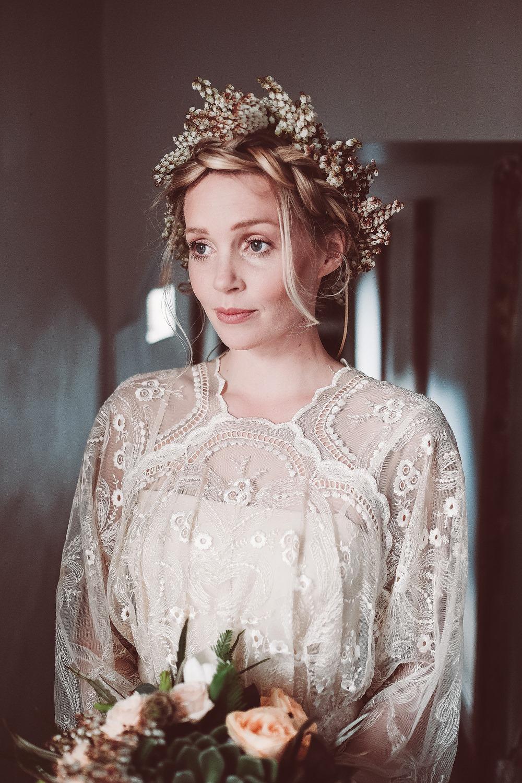 vintage bridal dress
