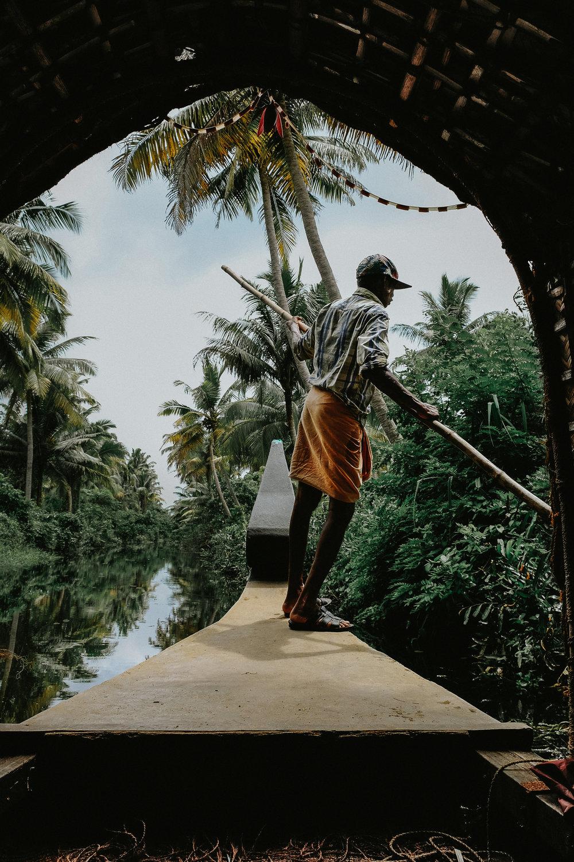 Cochin Backwaters - Kerala, India