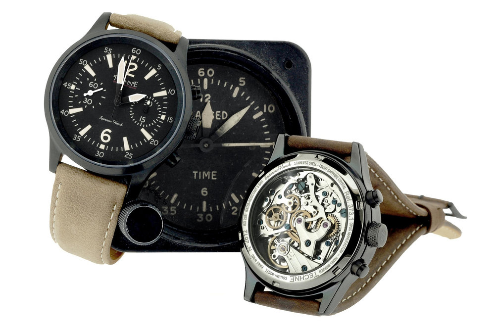 Techné mechanical watches