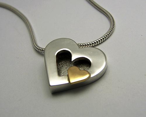 Golden Heart, Sterling Silver, 18ct Yellow Gold.jpg